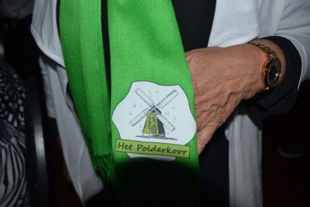 Onze sjaal met logo